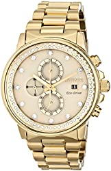 "Citizen Unisex FB3002-53P ""Nighthawk Eco-Drive"" Stainless Steel Swarovski Crystal-Accented Watch"
