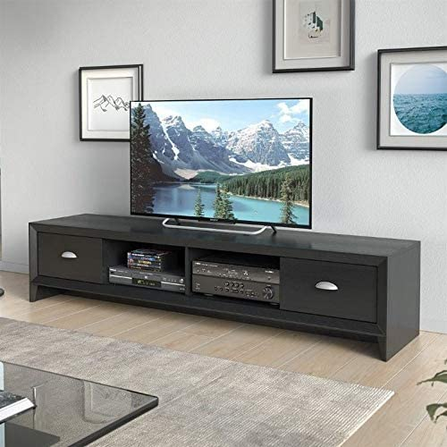 Atlin Designs Large Modern Entertainment TV Stand Media Console