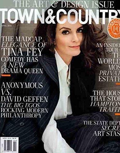 New Stash Tin - Town & Country Magazine (April, 2016) Tina Fey Cover