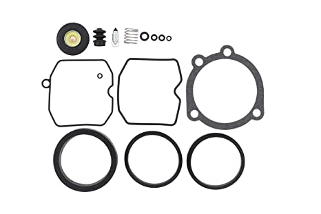 Amazon.com: CV Carburetor Rebuild Carb Repair Kit for Harley ... on harley-davidson motorcycle parts diagram, ss carb parts diagram, tillotson hs diagram, 2004 sportster 883 motor diagram,
