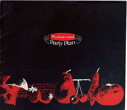 Price comparison product image Rubbermaid Party Plan Sales Brochure Catalog PP-155