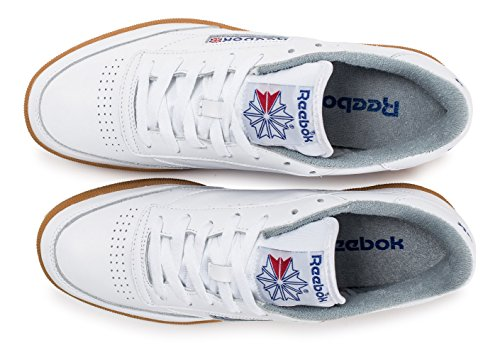 "Reebok Club C 85 Gum ""Homage Pack"", white-reebok royal-flat grey white-reebok royal-flat grey"