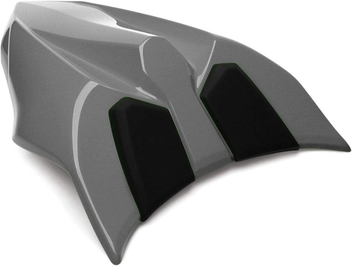 Genuine Kawasaki Accessories 17-19 Kawasaki EX650E Seat Cowl (Pearl Storm Grey/ 36S)