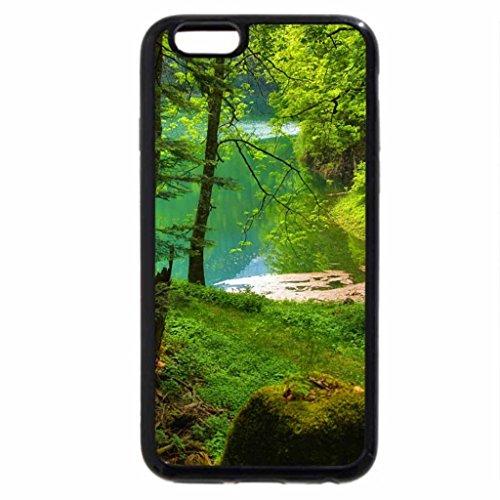 iPhone 6S / iPhone 6 Case (Black) Hidden in the Woods