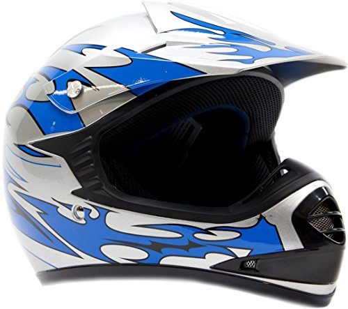 Kids Youth Offroad Helmet DOT Motocross ATV Dirt Bike MX Motorcycle -...