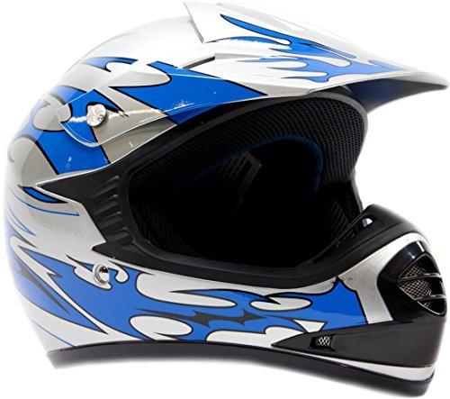 Kids Youth Offroad Helmet DOT Motocross ATV Dirt Bike MX Motorcycle -...