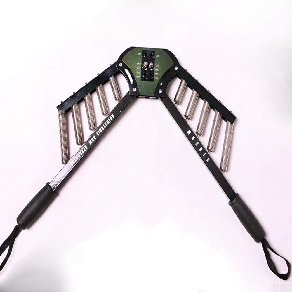 Fitnscle Best Arm-Übungen Power Twister Expander mit Verstellbarer Kraft, Zugtrainer mit verstellbarem Widerstand von 30kg bis 60kg