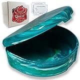 QUIST (TM) Orthodontic Retainer Case (Turquoise)