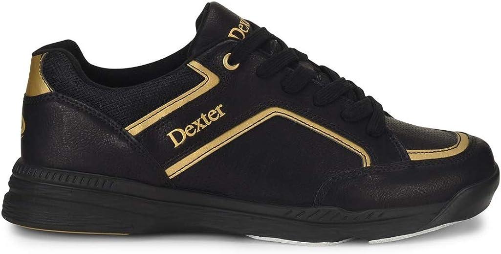Dexter Bud Mens Bowling Shoes Black Gold