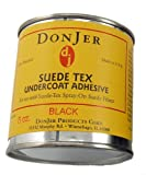 M019 - Black Suede Tex Adhesive