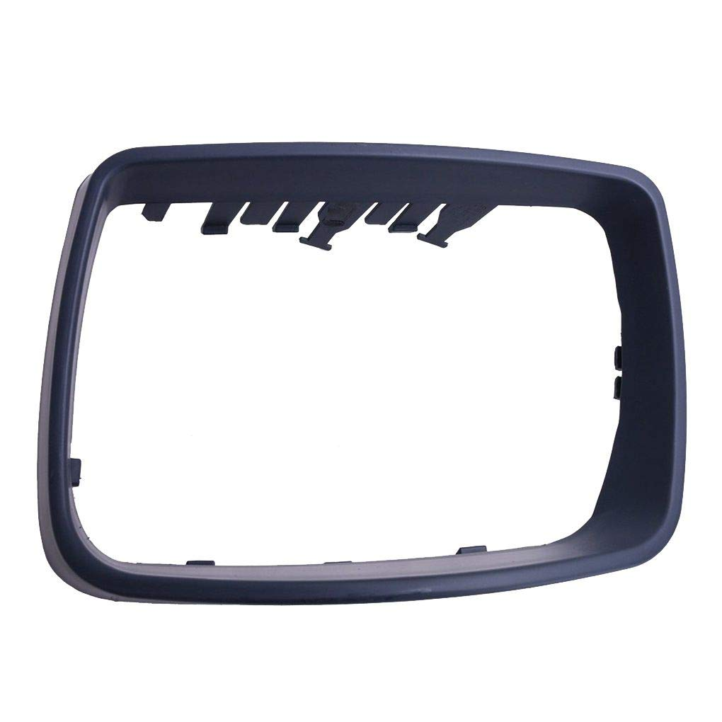 51168254903 Left Side Plastic Car Rearview Mirror Frame Cover Trim Ring Replacement for BMW E53 X5 00-06 Republe