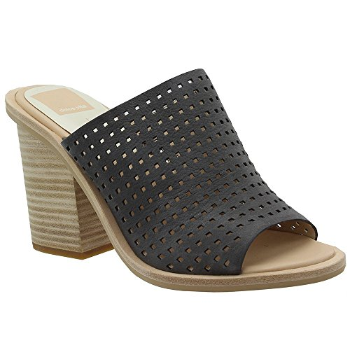 Dolce Vita Wales Wedges Smoke Perforated Nubuck 7.5 B(M) (Dolce Vita Gift)