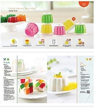 jellette - Molde para gelatina Icecreams & desayuno molde Exclusive Pongal, kitchadi: Amazon.es: Hogar