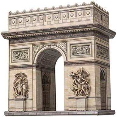 ウンブーム 1/130 フランス パリ 凱旋門 ペーパークラフト UMB347