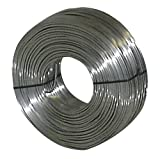 Ideal Reel 16-SS 16 Gauge Tie Wire, 3.5 lb. Roll, Stainless
