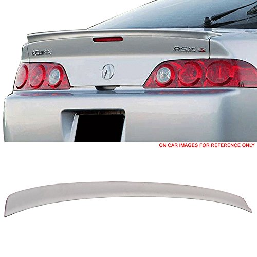Trunk Spoiler Fits 2002-2006 Acura RSX | TR ABS Unpainted Boot Lip Rear Spoiler Wing Add On Deck Lid By IKON MOTORSPORTS | 2003 2004 2005 Acura Rsx 2dr Wings