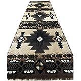 Southwest Native American Runner Area Rug Berber Beige Concord Design C318 (2 Feet X 7 Feet )