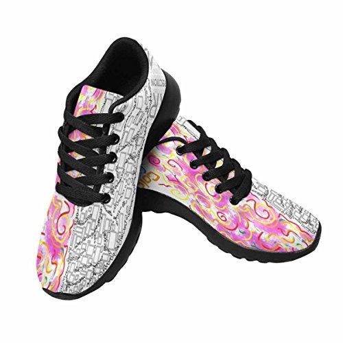 Interessante Womens Jogging Running Sneaker Leggero Go Easy Walking Comfort Sportivo Scarpe Da Atletica Destra E Sinistra Multi Funzione 1