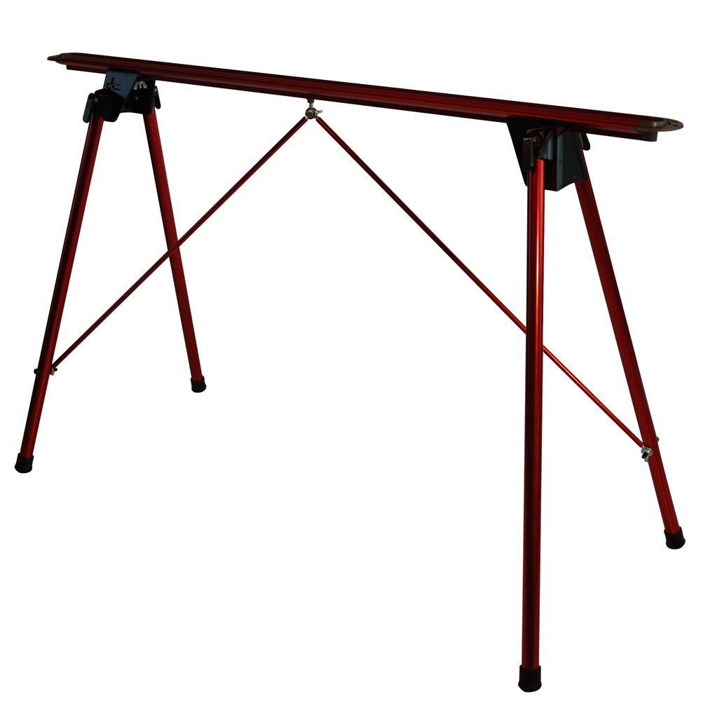 Tools4Boards TERMINATOR Tuning Stand, Candy Apple Red/Black