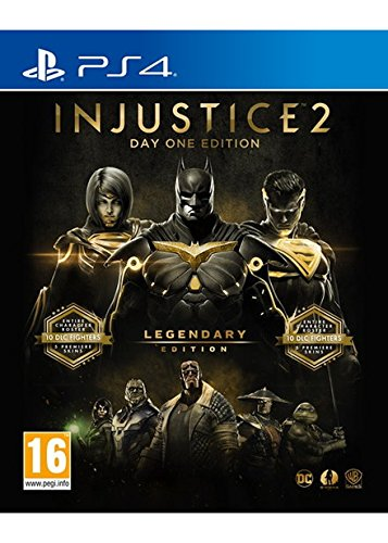 Injustice 2 Legendary Edition Day One Edition - Steelbook with exclusive DLC (PS4) UK IMPORT REGION FREE (Injustice Gods Among Us Codes Xbox 360)