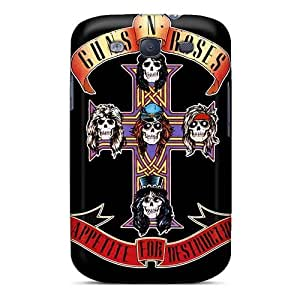 Shockproof Hard Phone Case For Samsung Galaxy S3 With Unique Design High Resolution Guns N Roses Skin IanJoeyPatricia