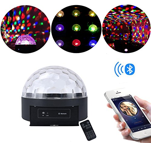 Super LED Crystal Light with Bluetooth Speaker by Unido Box