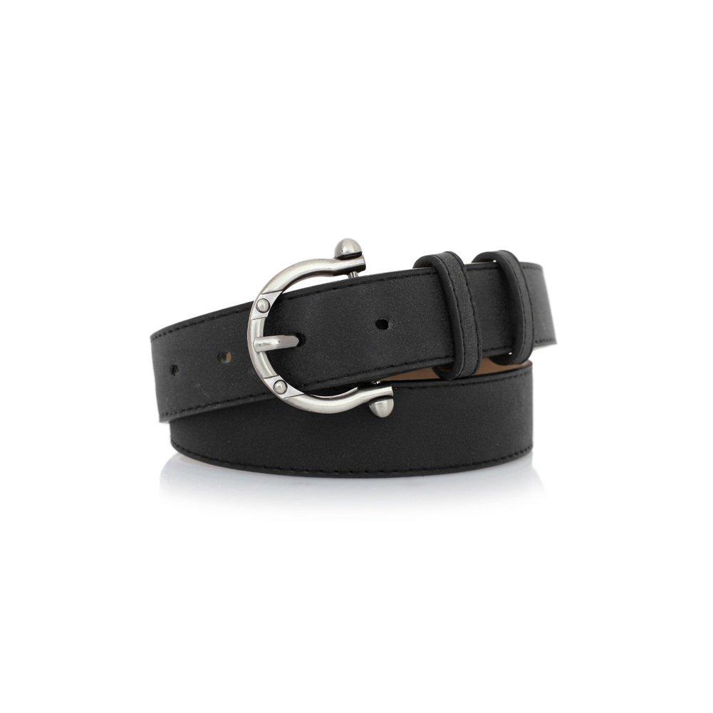 JIEJING Spring Wild Ladies Belt,Simple Pin Buckles Stylish Belt Decoration Jeans Skirt Belt