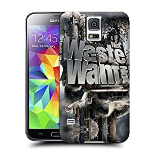 Unique Phone Case 3D Art Not Waste Not Want Hard Cover for samsung galaxy s5 cases-buythecase