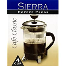 Sierra Coffee Press - 4 Cup - Cafe Classic