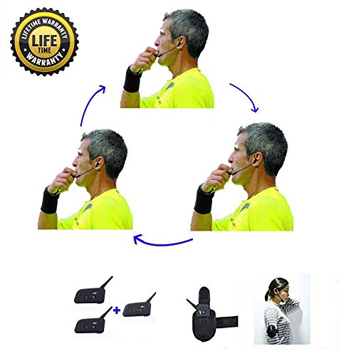 Referee Headset 3 Referees Talk Same time Football for sale  Delivered anywhere in USA
