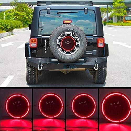 Jeep Accessories Lights for Spare Tire Jeep Wrangler Spare Tire Brake Light JK JKU 2007-2017 Jeep LED Brake Light FIREBUG Jeep 3rd Brake Light LED Jeep Spare Tire Brake Light
