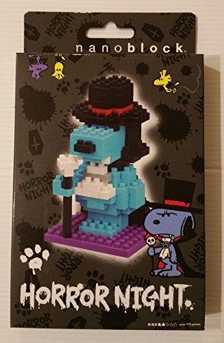 USJ official limited edition 2016 Halloween [nano-block Horror Nights Snoopy nanoblock HORROR NIGHT SNOOPY] -