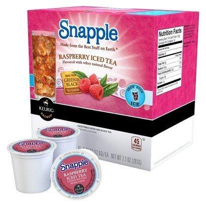 (Snapple Raspberry Iced Tea K-Cups (22 K-Cups))