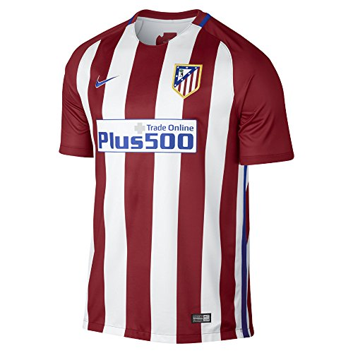 Nike Mens Atletico De Madrid Stadium Jersey-VARSITY RED (L) (Atletico Madrid Soccer Jersey)