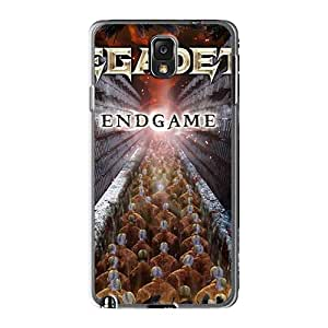 Shockproof Hard Phone Covers For Samsung Galaxy Note3 With Customized Trendy Megadeth Band Pictures TammyCullen