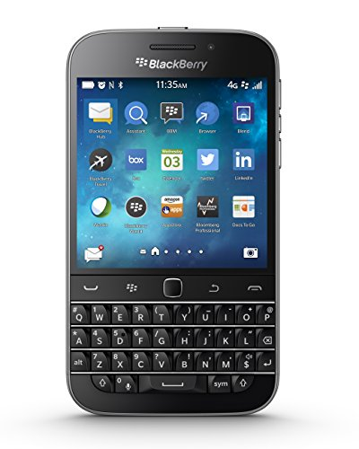 BlackBerry Classic Factory Unlocked Cellphone, Black - Unlocked Blackberry