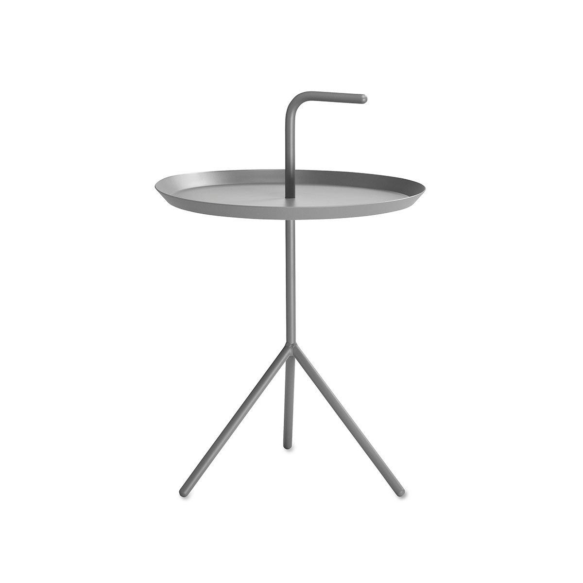DLM Beistelltisch grau /Ø 38cm H/öhe Ablage 44cm
