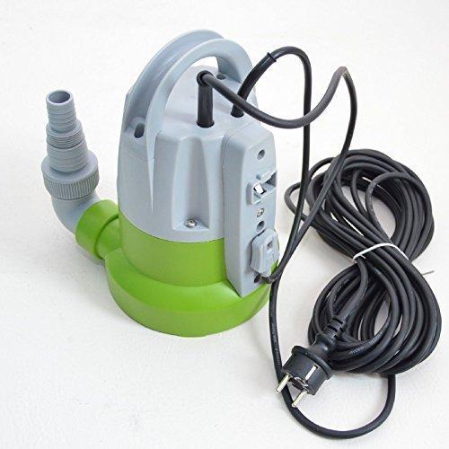 Flachsauger Tauchpumpe Flachsaugerpumpe bis 2-3 mm Schmutzwasserpumpe 7200l/h Powermat