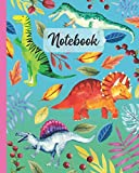 "Notebook: Triceratops / Plateosaurus / Baryonyx / Spinosaurus Dinosaur - Prehistoric Creatures Diary / Notes / Track / Log / Journal , Book Gifts For ... Kids Teens Girls Boys Friends 8x10"" 110 Pages"