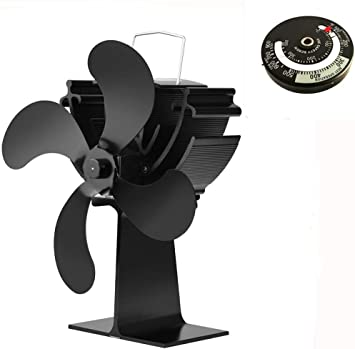 exing Stove Fan 4S metafood Ventilador para chimenea holzöfen ...