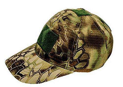 OSdream Tactical Cap/Sport Visor Tactical Cap Green Python Tattoo Camo