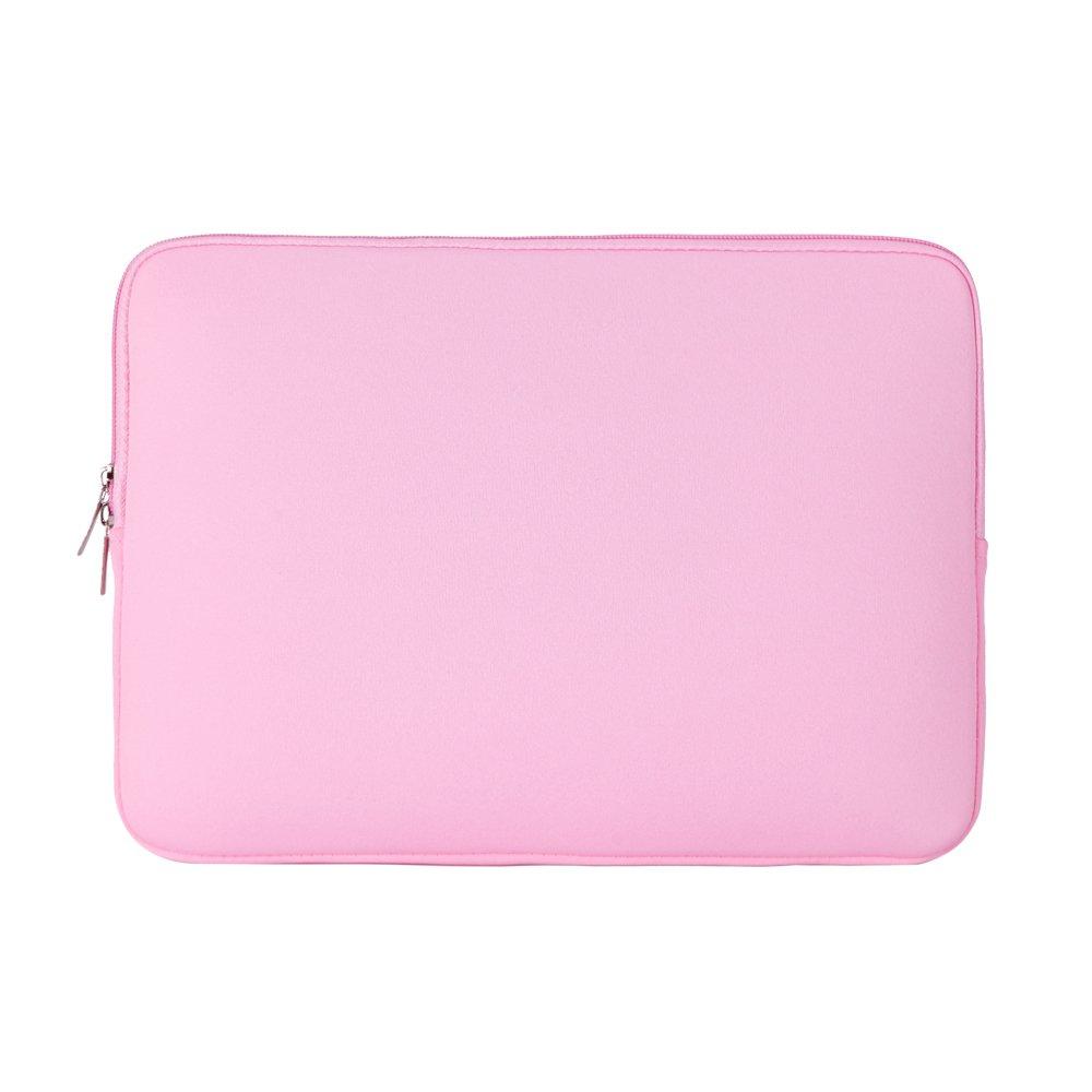 """RAINYEAR 11-11.6 Inch Laptop Sleeve Protective Case Soft Carrying Computer Zipper Bag Cover Compatible with 11.6"""" MacBook Air for 11"""" Notebook Tablet Ultrabook Chromebook (Pink)"""