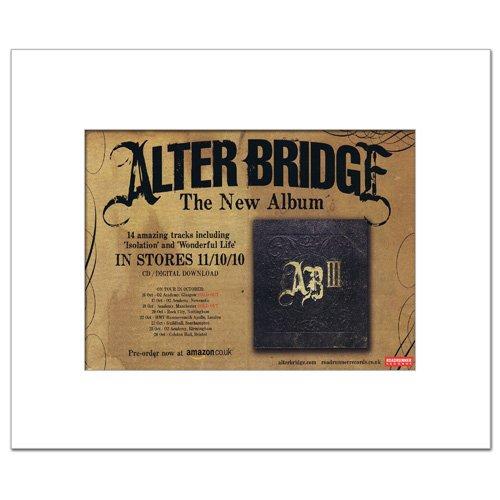 ALTER BRIDGE - III Matted Mini Poster - 21x13.5cm