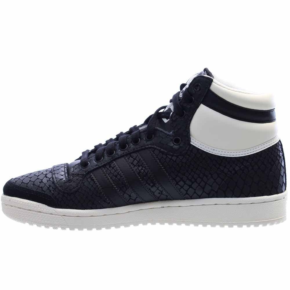 adidas Women's Top Ten Hi Black/White S75135 (Size: 8) by adidas (Image #4)