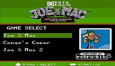 Retro-Bit Joe & Mac: Ultimate Caveman Collection SNES ...