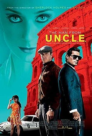 The Man From U.N.C.L.E. Movie Poster 27 x 40 Style B 2015 Unframed
