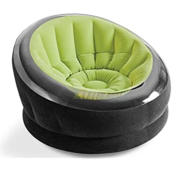 Amazon.com: Intex Hinchable color verde lima Empire silla ...