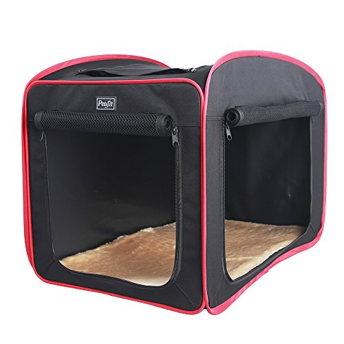 "Petsfit 31""x20""x25"" Portable Pop Open Cat Kennel,Cat Cage,Do"
