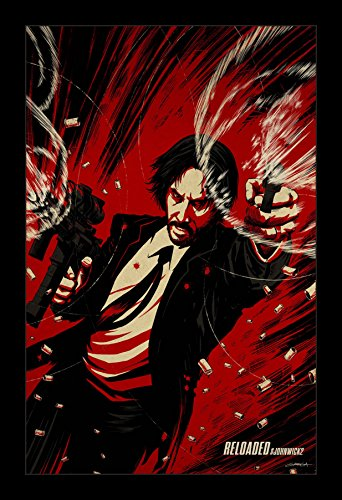 John Wick Chapter Two - 11x17 Framed Movie Poster by Wallspace