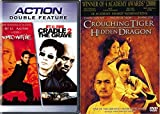 Jet Li & Chow Yun Fat 3-Movie Collection - Romeo Must Die, Cradle to the Grave & Crouching Tiger, Hidden Dragon 3-Movie Bundle